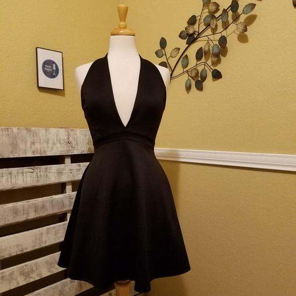 Charlotte Russe Dresses & Skirts - Charlotte Russe Black Skater Dress Size Medium